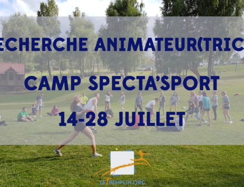Recherche animateur ou animatrice Sport pour SPECTA'SPORT 2018 !